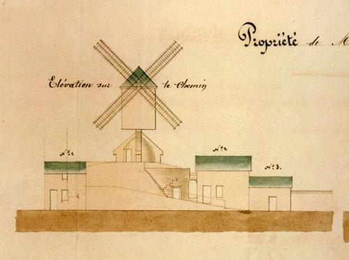 Le grand moulin de pierre lise archives municipales de for Plan de moulins