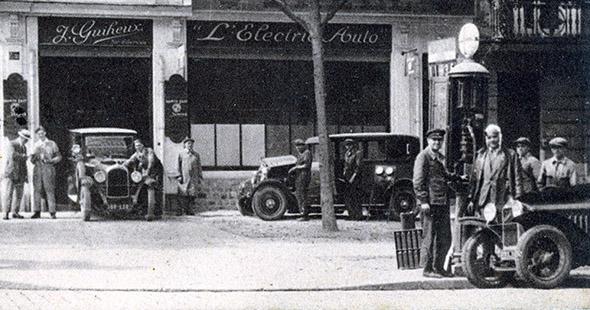 Image La chronique historique de l'été : La première pompe à essence