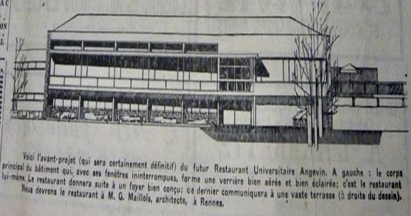 Image Le premier restaurant universitaire