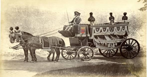 Image La chronique historique de novembre : le premier corbillard