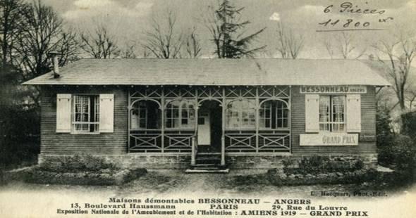 Image Premières maisons en bois