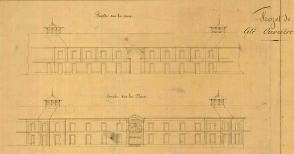 Image Les premiers logements ouvriers